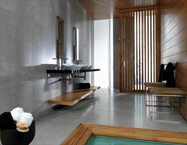 Azulejos baño modernos porcelanosa: interior porcelanosa paredes ...