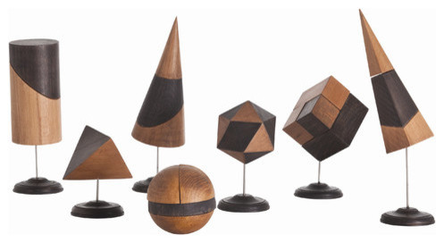 Arteriors Home, Geo Sculpture, Set of 7, DD2021 ...