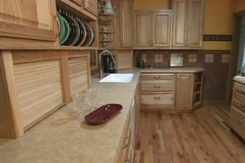 How to pull kitchen cabinets forward for a 30 39 39 deep for 30 deep kitchen cabinets