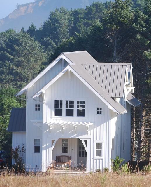 Mill House Oregon Coast Beach Style Exterior