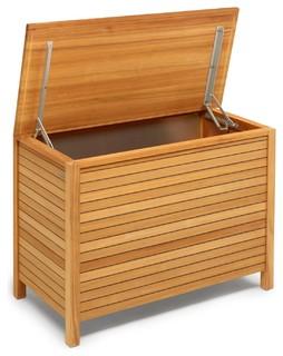 deck polstertruhe bauhaus look gartenboxen truhen von. Black Bedroom Furniture Sets. Home Design Ideas