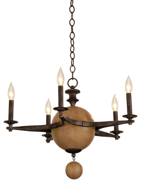 kalco lighting 2937fg hampton florence gold 5 light