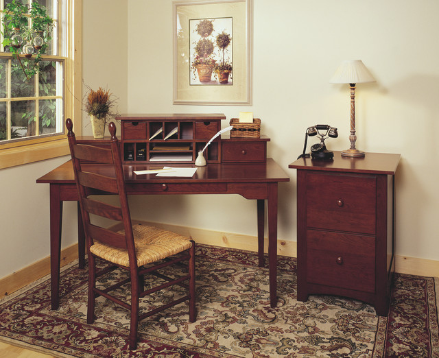 shaker style office desk 2