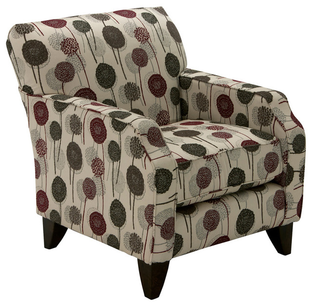 Empire Accent Chair Patterned Modern Armchairs And