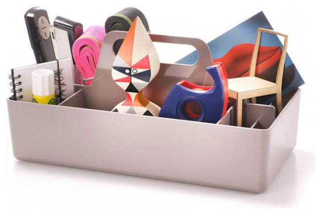 Toolbox, Warm Grey - Modern - Storage Cabinets - by Design Public