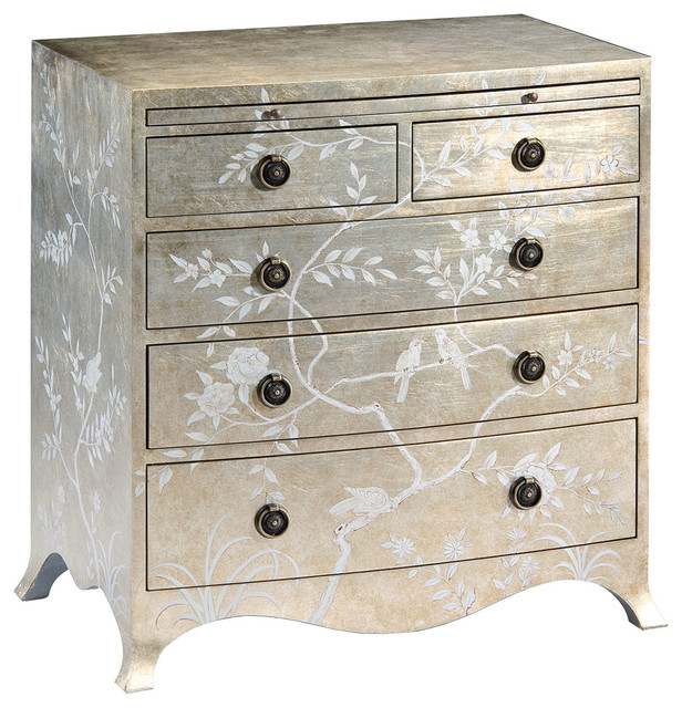 Hand-Painted Chest traditional-nightstands-and-bedside-tables