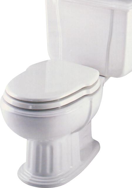 Eljer savannah incepa hampton elongated custom seat traditional toilet accessories by g for Savannah bathroom accessories