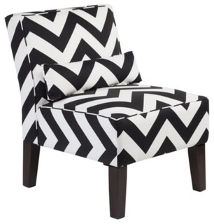 bailey accent chair chevron modern living room chairs by z gallerie. Black Bedroom Furniture Sets. Home Design Ideas