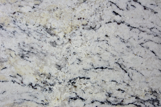 White Ice Granite close up Garpa