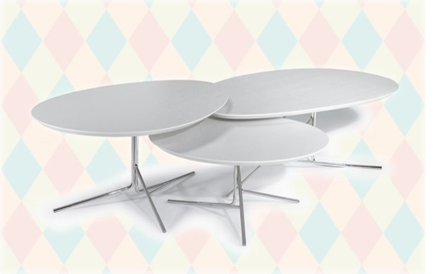 Simplicity with a Twist The Twister Coffee Table Set
