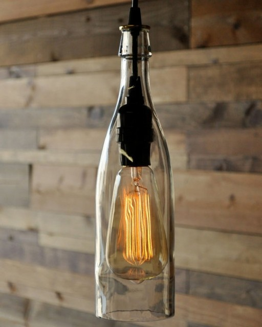 Cottage Chic Edison Pendant Light For Yard Lighting