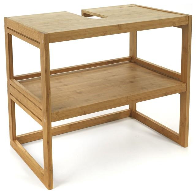 danong meuble sous lavabo en bambou country bathroom vanity units sink cabinets by. Black Bedroom Furniture Sets. Home Design Ideas