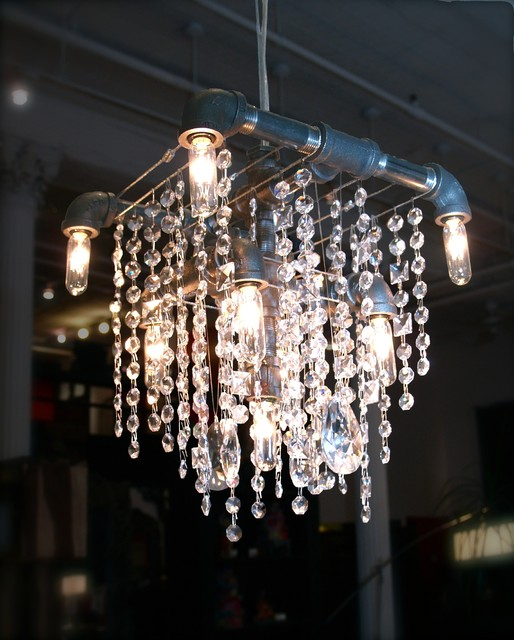 Modern Chandeliers Nyc: Tribeca Collection Grand Chandelier