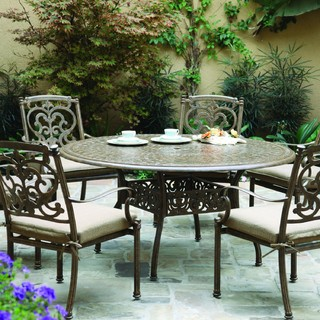 patio dining set antique bronze modern outdoor dining sets by