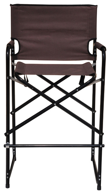 Lightweight And Durable Aluminum Folding Tall Director 39 S Chair Contempo