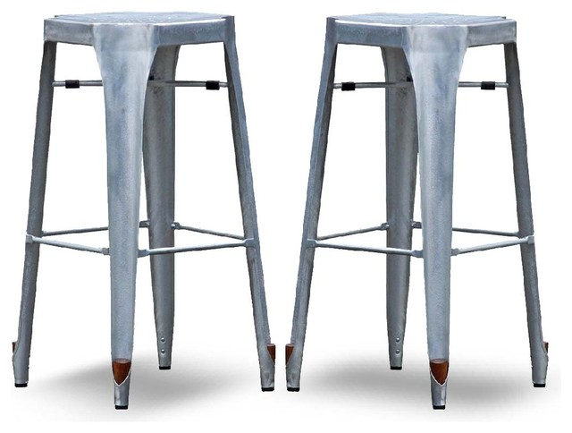 Tabouret chaise de bar industriel for Chaise et tabouret de bar