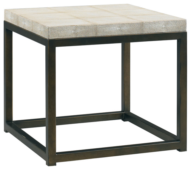 Lillian August Martin Cube Table Modern Side Tables And End Tables By Benjamin Rugs And