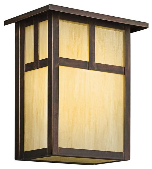Kichler Lighting 9147CV Alameda Arts And Crafts Mission Outdoor Wall Light