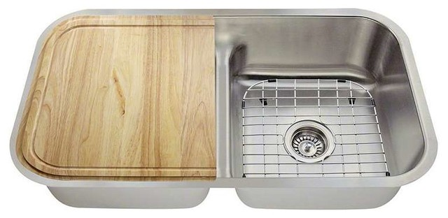 Topmount stainless steel sink made in usa contemporary kitchen sinks - American made stainless steel sinks ...