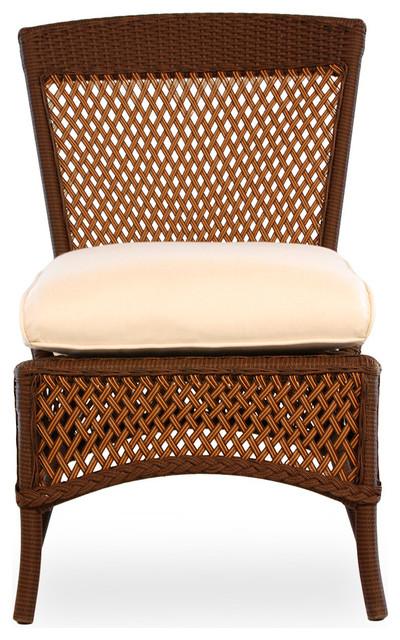 lloyd flanders grand traverse armless dining chair. Black Bedroom Furniture Sets. Home Design Ideas