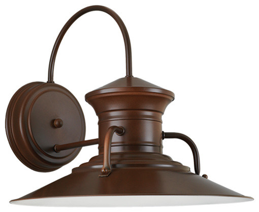 The moonshiner wall light rustic wall sconces other for Houzz rustic lighting