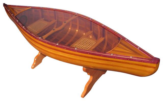 Canoe Table 5 Feet - Beach Style - Coffee Tables - by Old Modern ...