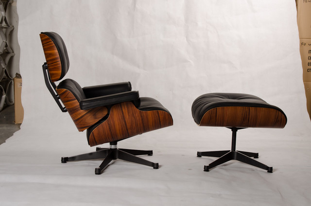 Eames Lounge Amp Ottoman Reproduction Midcentury