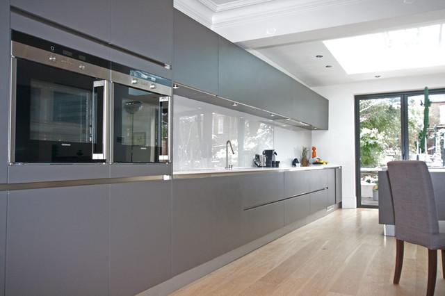 Grey Handleless Kitchen Modern Kitchen Cabinetry