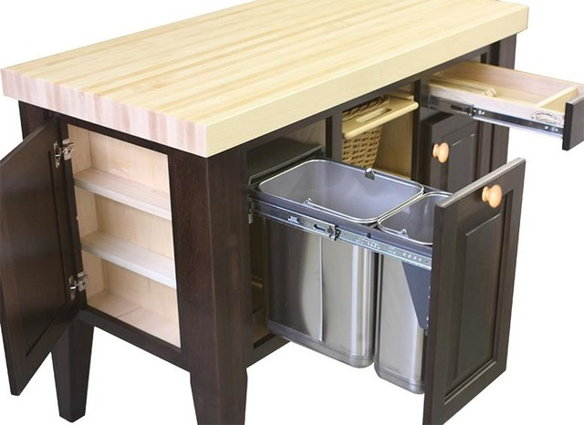 Monarch Kitchen Island Northern Heritage Kitchen Island and Block Set ...