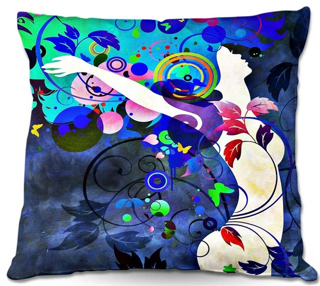 DiaNoche Outdoor Pillows Angelina Vick Wondrous Night - Modern - Garden Cushions - by DiaNoche ...
