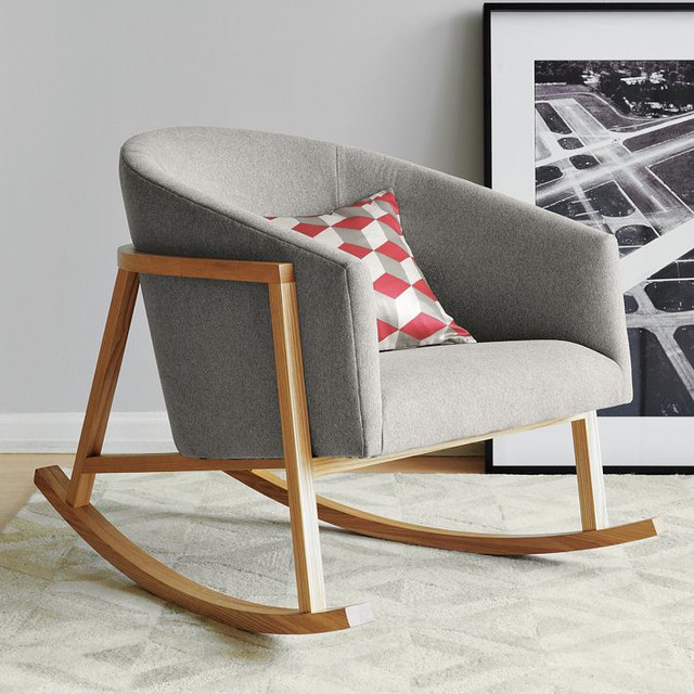 ryder rocking chair modern rocking chairs by west elm. Black Bedroom Furniture Sets. Home Design Ideas