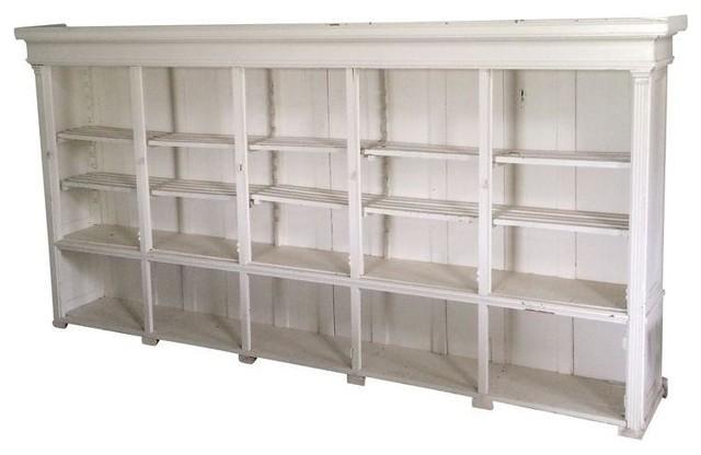 Vintage large bookcase armarios de almacenaje de chairish - Armarios para almacenaje ...