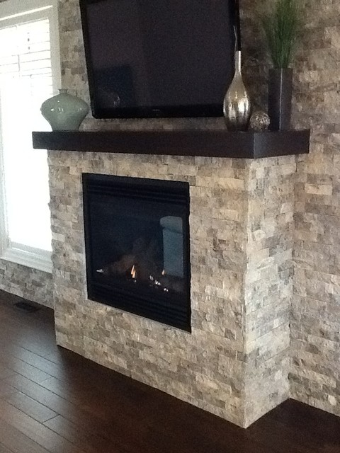 Natural Stone Andtravertine Fireplaces