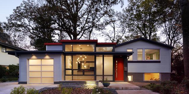 Profile for Modern split level house
