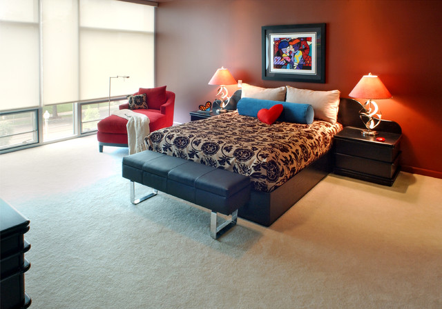 Lindell Eclectic Bedroom St Louis By Rene Cleste