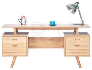 josephine scandinavian style furniture office desk natural modern