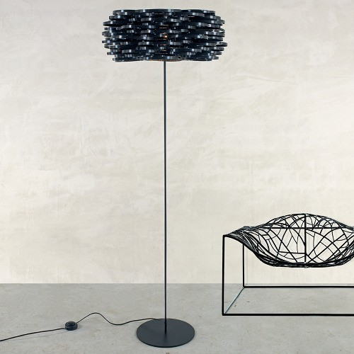 aros floor lamp modern floor lamps by ylighting. Black Bedroom Furniture Sets. Home Design Ideas