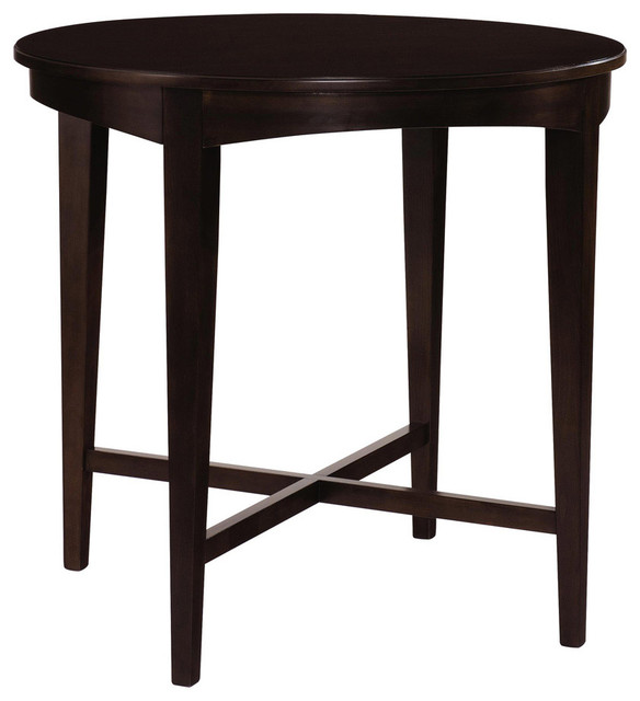 Kincaid Alston Solid Wood Round Bistro Table  : transitional dining tables from www.houzz.com size 584 x 640 jpeg 44kB