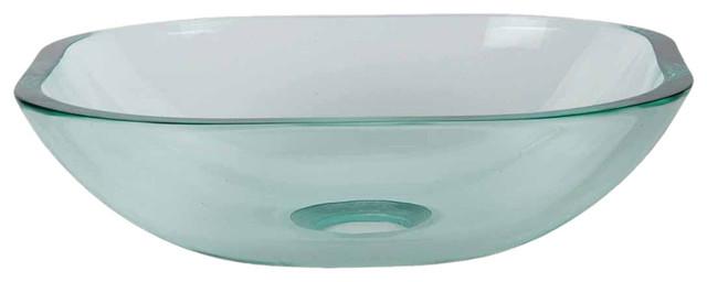 Oceans Tide Glass Vessel Sink, 12