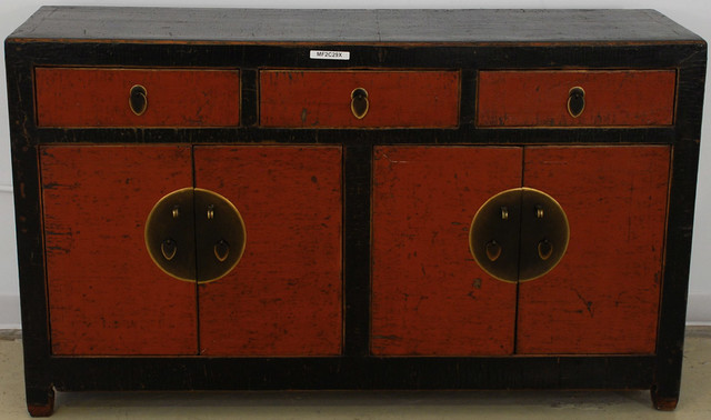 black lacquer buffet cabinet 2
