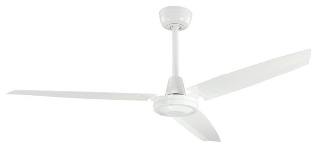 White ceiling fan contemporary ceiling fans by for White contemporary ceiling fans with lights