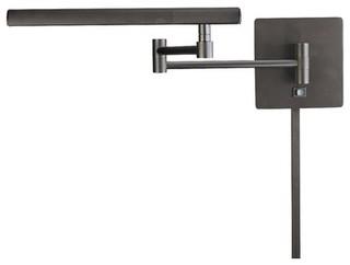 Madake Swing Arm Wall Lamp in Dorian Bronze - Moderne - Væglamper med ...