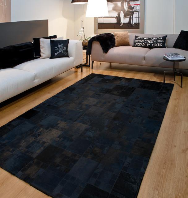 Black Contemporary Rugs Ideas