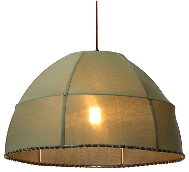 Zuo Marble Ceiling Lamp Pea Green Farmhouse Pendant