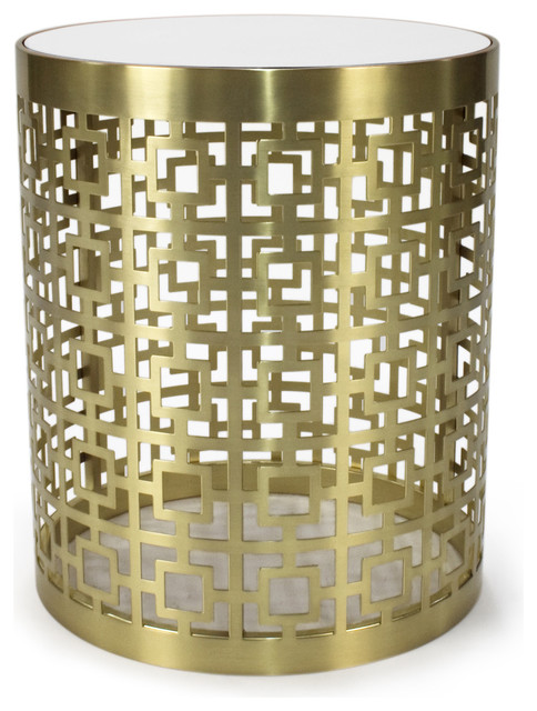 Jonathan Adler Nixon End Table Contemporary Side Tables And End Tables