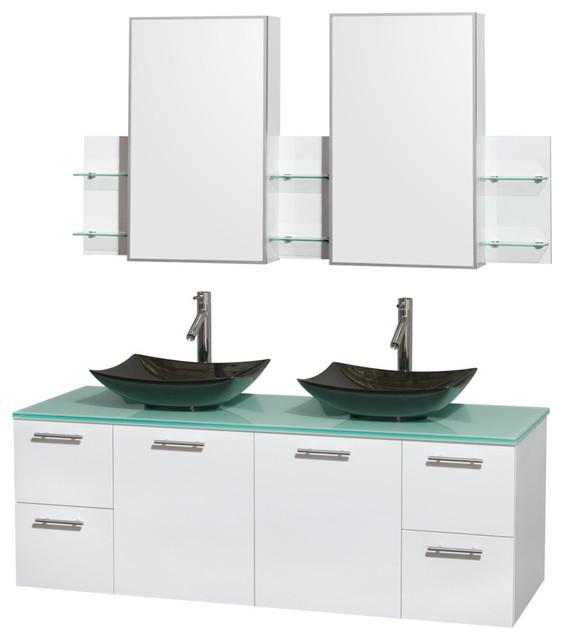 Double Sink Bathroom Vanity Countertops