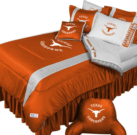 Ncaa Texas Longhorns Comforter Pillowcase College Bedding