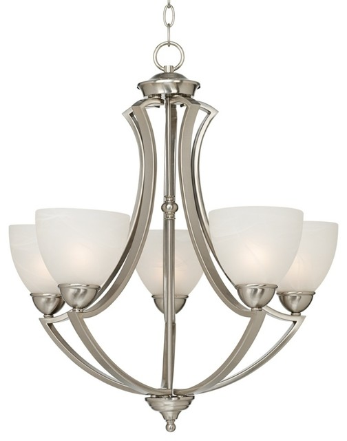 Possini euro design milbury five light 24 wide chandelier for Possini lighting website