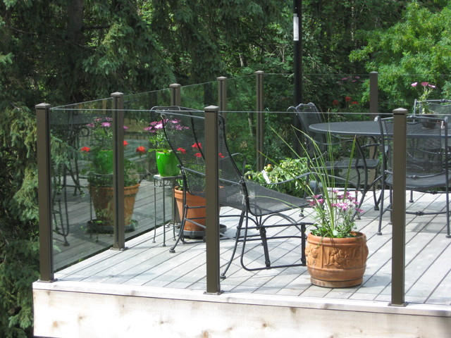 century aluminum deck railing modern outdoor products seattle