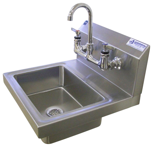 H60 Series Wall Mount Hole Single Bowl H Duty Handsink